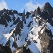 利尻岳南稜 登攀