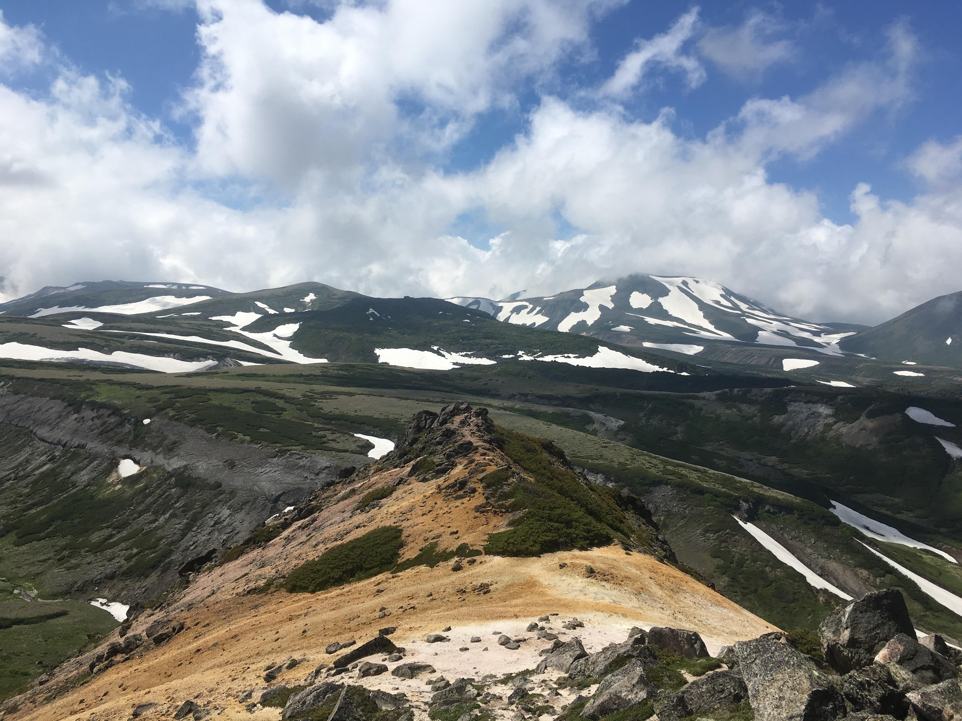2019/07/07  大雪山「赤岳」